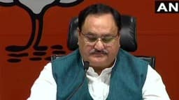 bjp s first list released  bjp leader jp nadda  photo ani