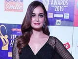 bollywood actress attends zee cine awards ceremony in mumbai