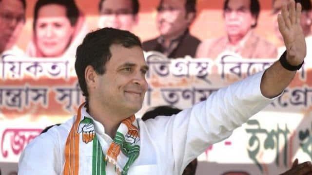 rahul gandhi in malda rally   photo by congress twitter march 23  2019