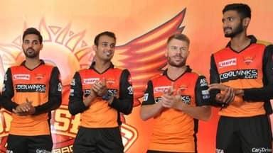 IPL 2019, SRHvsKKR: कुछ ऐसी हो सकती है सनराइजर्स हैदराबाद की प्लेइंग XI