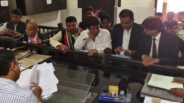 raj babbar filed nomination