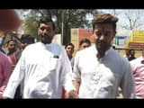chirag paswan reached  at jamui for filling nomination form for lok sabha election 2019 first phage