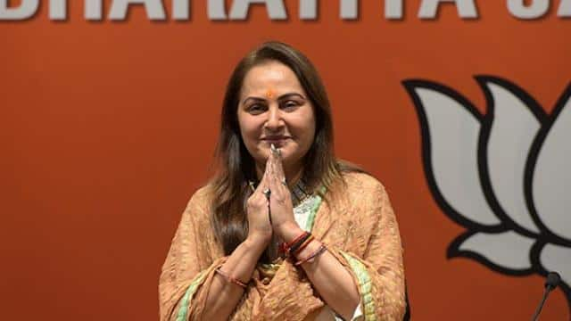 lok sabha elections 2019  jaya prada actor-turned-politician joins bjp