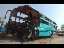 यमुना एक्सप्रेस-वे पर भीषण सड़क हादसा, 8 की मौत