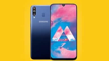 samsung galaxy m30 is equipped with batter camera and strong battery backup