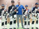 indian shooters made a clean sweep of gold medals in 10m air rifle event at the 12th asian airgun ch
