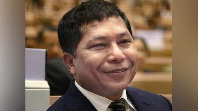 mukul sangma  former chief minister of meghalaya