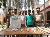 कल्लू की कटरी में अवैध शस्त्र फैक्ट्री संग दो गिरफ्तार