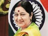 a file photo of external affairs minister sushma swaraj  photo  raj k  raj ht