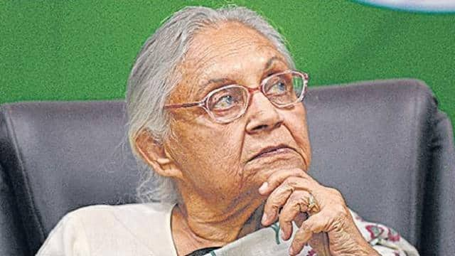 Former Delhi Chief Minister and Congress leader Sheila