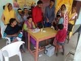 2286 बूथों पर बच्चों को पिलाई गई पोलियो खुराक