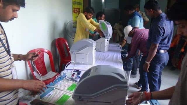 supaul lok sabha seat  evm sealing work begins for election 2019