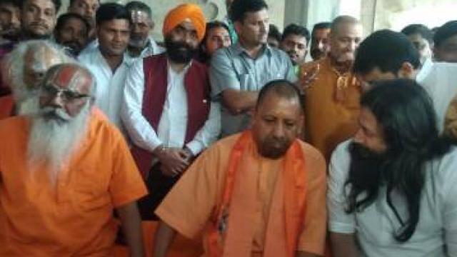chief minister  ayodhya  meet