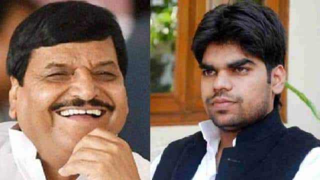 shivpal yadav and akshay yadav
