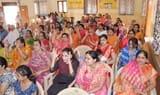 जैन मंदिर सेक्टर दो में धूमधाम से मनाई गई महावीर जयंती