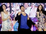 ananya pandey  tiger shroff and tara perform during the first song launch of film student of the yea
