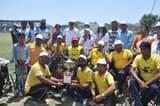 मतदाता जागरूकता अभियान में दिव्यांगों ने खेला क्रिकेट
