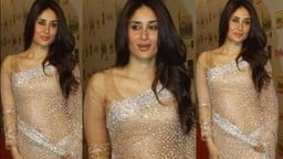 kareena kapoor khan in net saree trande