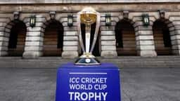2019 icc world cup trophy