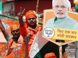 ls polls 2019  indian prime minister narendra modi during roadshow in varanasi