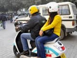 a two-wheeler bike taxi in gurgaon  abhinav saha  hindustan times