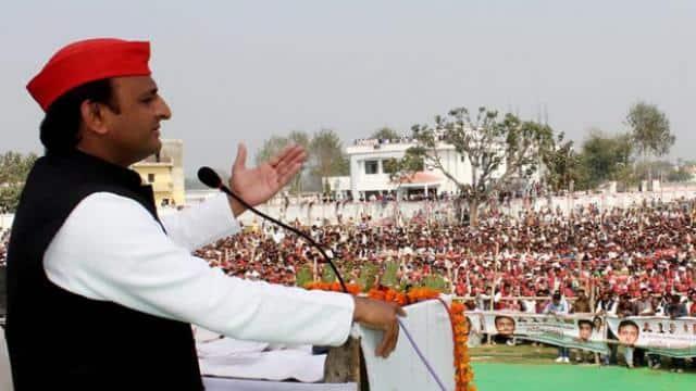 akhilesh yadav rally