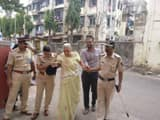 mumbai police senior citizen voters photo ani