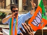 sunny deol during a election campaign
