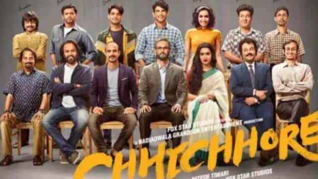 first poster                 chhichhore