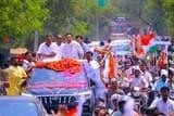 जितिन ने कस्ता, नेहा प्रसाद ने धौरहरा में निकाला रोडशो