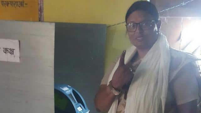 rekha verma casted her vote