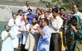 तीर्थ पुरोहित समाज ने संगम तट पर की पूजा-अर्चना