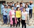 पूरनपुर तहसील में छात्रों ने लहराया परचम