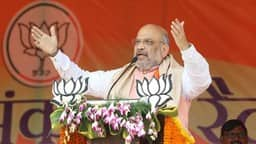amit shah addresses an election campaign rally in dhanbad