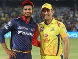 chennai super kings vs delhi capitals  bcci