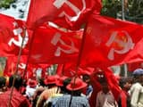 left party during a rally  file pic