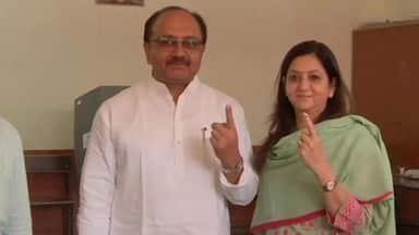 lok sabha elections 2019  6th phase voting starts in uttar pradesh