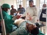 शिवहर में मतदान केंद्र पर होमगार्ड जवान की राइफल से चली गोली, मतदान कर्मी घायल