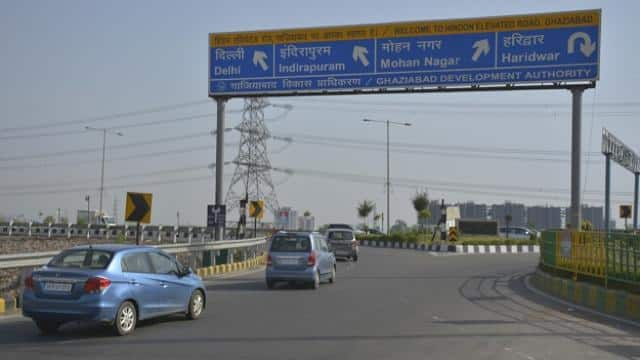 hindon elevated road  photo   ht