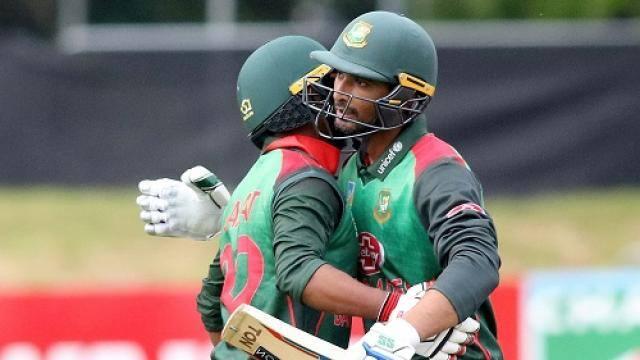 bangladesh s mosaddek hossain  l  with bangladesh s mahmudullah