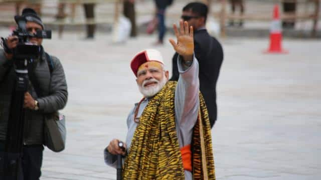 pm narendra modi in kedarnath   phtoto by hindustan