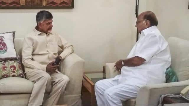 chief minister of andhra pradesh and telugu desam party president n  chandrababu naidu meets ncp  pr