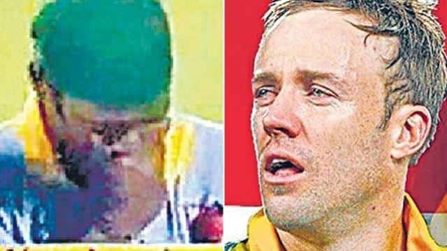 cricketers crying when loosing