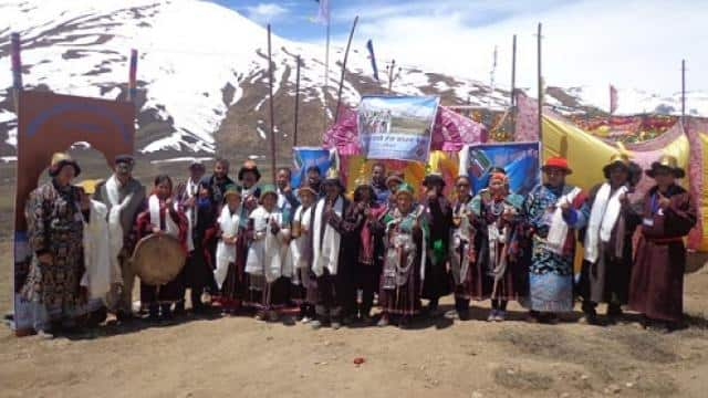 visuals from the world s highest polling station at tashigang in lahaul-spiti