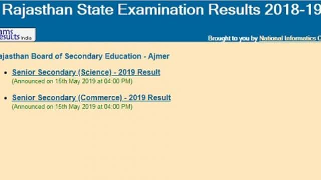 rbse 12th arts result 2019 likely to be declared in next one week