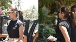 Anushka Sharma को किया गया फिजियोथैरेपी क्लीनिक पर स्पॉट, इस खतरनाक समस्या का लगातार करवा रही हैं इलाज