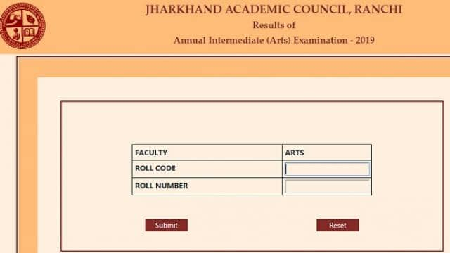 jac 12th arts result 2019 live