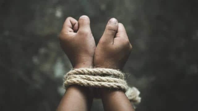 kidnapping  symbolic image