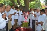 कांग्रेसियों ने मनाई पूर्व प्रधानमंत्री राजीव गांधी की पुण्य तिथि