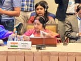 sushma swaraj in sco foreign ministers meet   airnewsalerts twitter may 22  2019